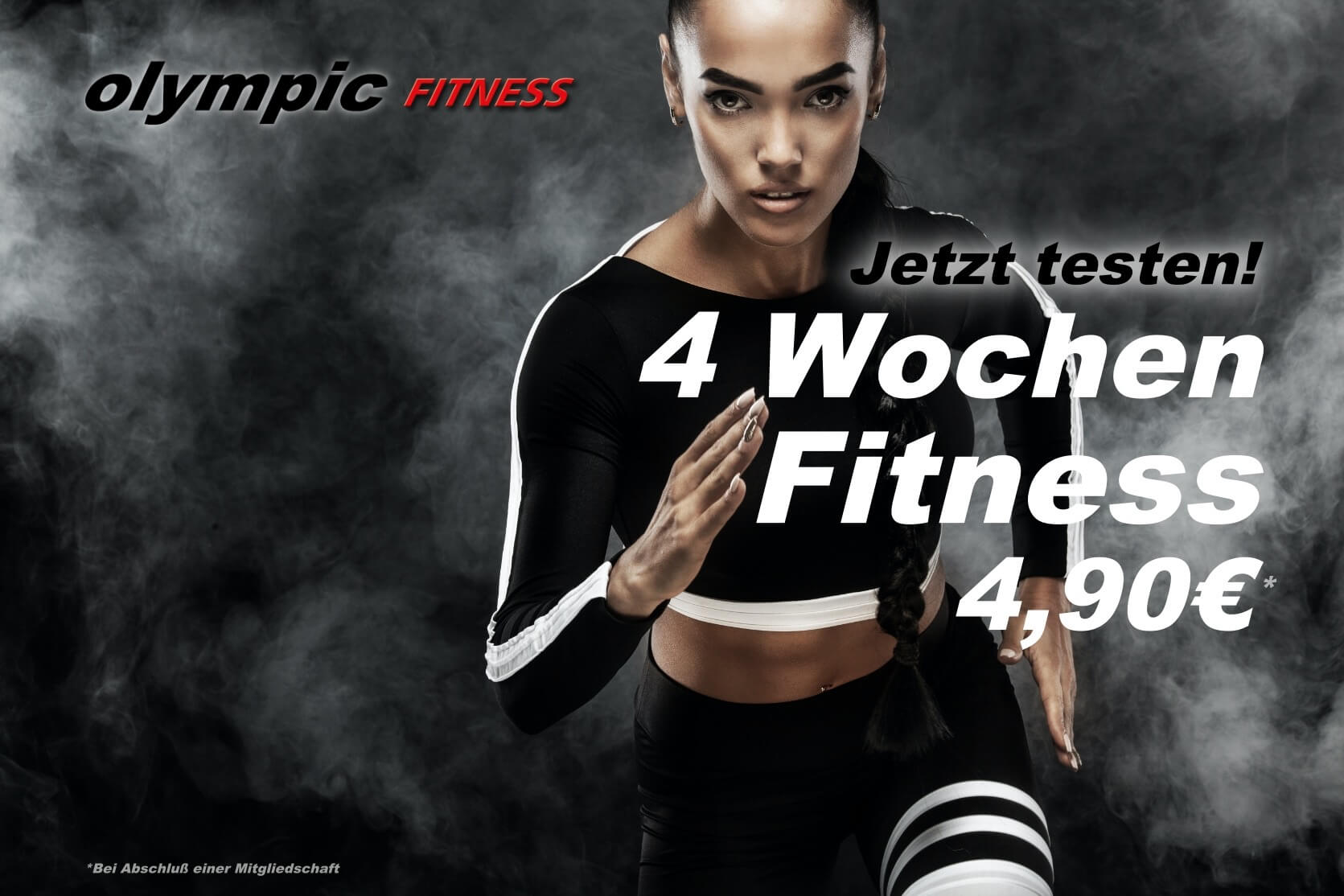 4 Wochen Fitness olympic Lady