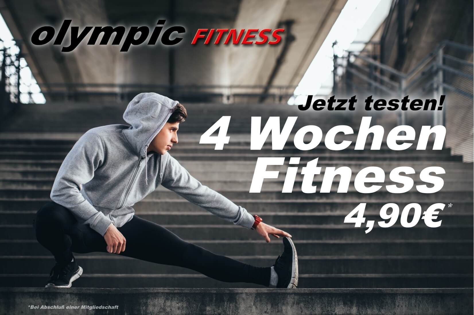 4 Wochen Fitness olympic